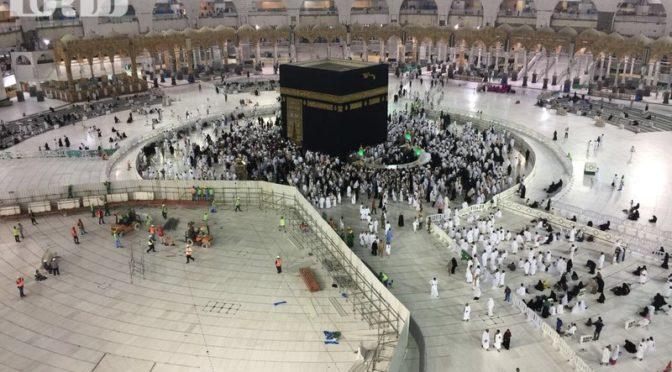 Фотокорреспондент «Сабк» запечатлел первые часы после завершения проекта расширения в Запретной Мечети