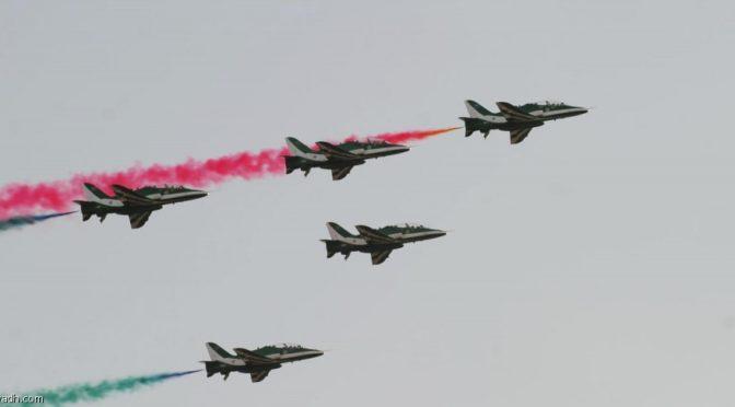 «Саудийские ястребы» и «Красные стрелы» в небе над Дириаъ
