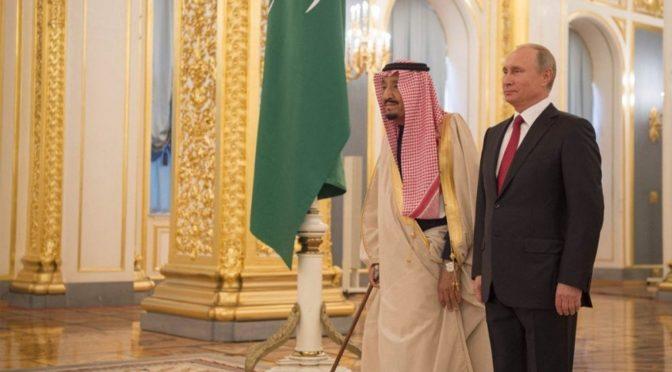 Служитель Двух Святынь поздравил президента Российской Федерации с  переизбранием на новый президентский срок