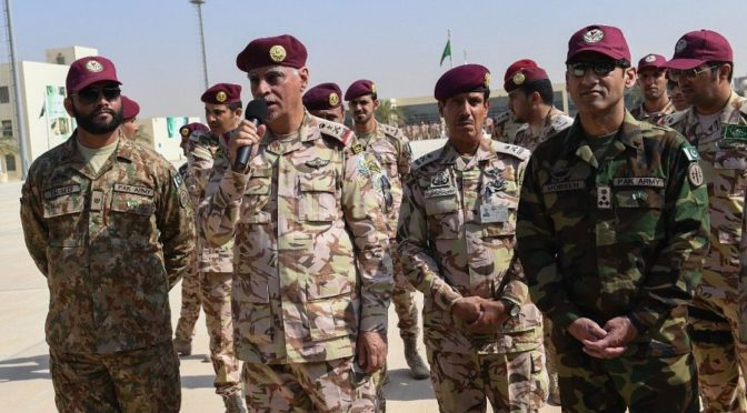Командующий силами спецназа сил безопасности открыл учения «Шихаб 2»