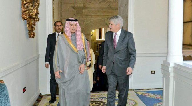 Министр иностранных дел встретился с министром иностранных дел Испании