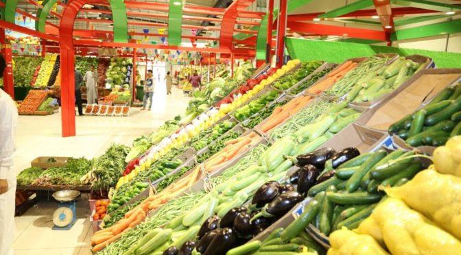 Министр окружающей среды, водных ресурсов и сельского хозяйства посетил зелёный рынок, относящийся к сельскохозяйственному кооперативному обществу Джазана