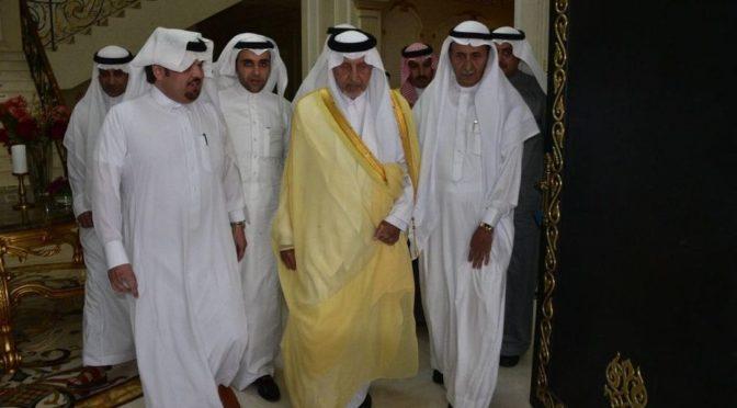 Губернатор провинции Благородной Мекки и его заместитель принесли соболезнования сыновьям поэта Ибрахима Хафаджи, да помилует Его Аллах