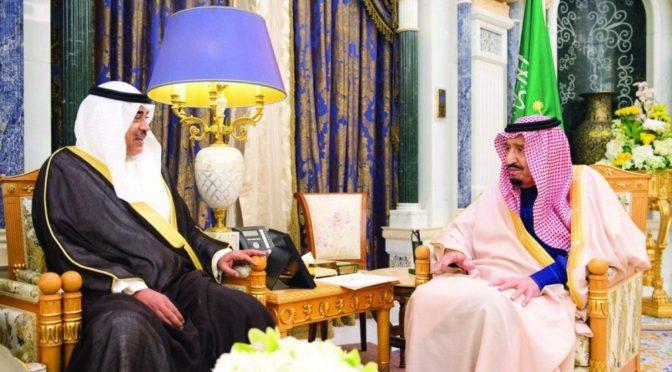 Служитель Двух Святынь получил послание от эмира государства Кувейт