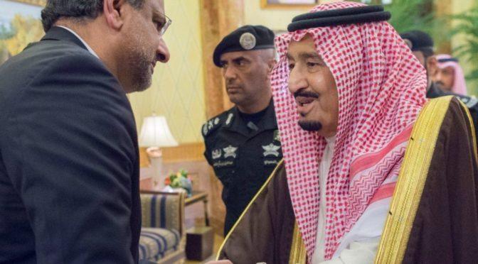 Служитель Двух Святынь провёл переговоры с Его честью премьер-министром Исламской республики Пакистан