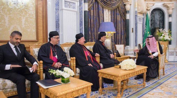 Служитель Двух Святынь обсудил с патриархом ар-Рай важность терпимости и саудийско-ливанские отношения