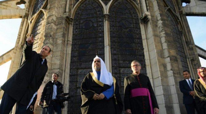Посещение аль-Иса кафедрального собора в Париже