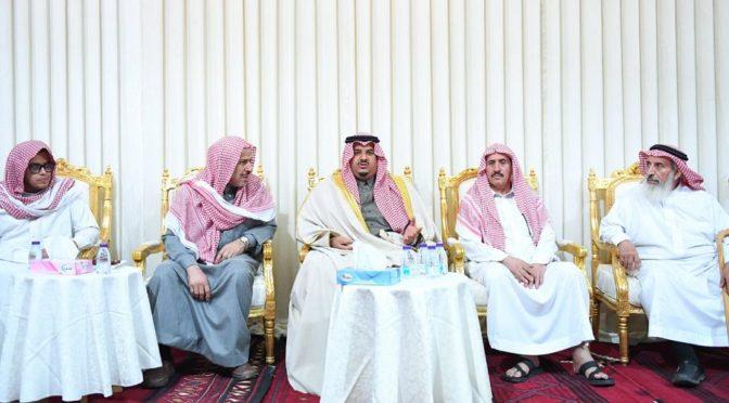 Заместитель губернатора провинции Эр-Рияд передал соболезнования правителей Королевства семье павшего мученнником аш-Шахри