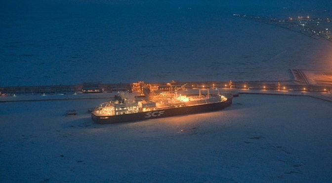 Министр энергетики совместно с президентом России и министром энергентики РФ принял участие в церемонии отправки первого танкера-газовоза в Арктике