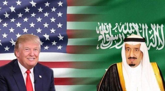 Служитель Двух Святынь поблагодарил Д.Трампа за хороший приём делегации Королевства, возглавляемой наследным принцем