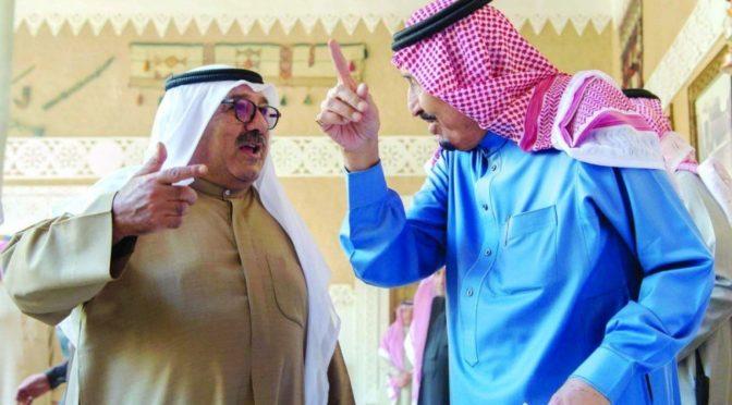 Служитель Двух Святынь принял первого заместителя премьер министра и министра обороны государства Кувейт