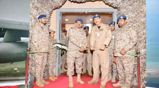 Командующий ВВС Королевства открыл выставку «Это мой отец»