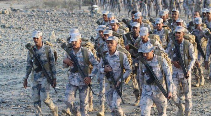 Пограничные войска  завершили ежегодную программу стрельб и выживания в Джидде