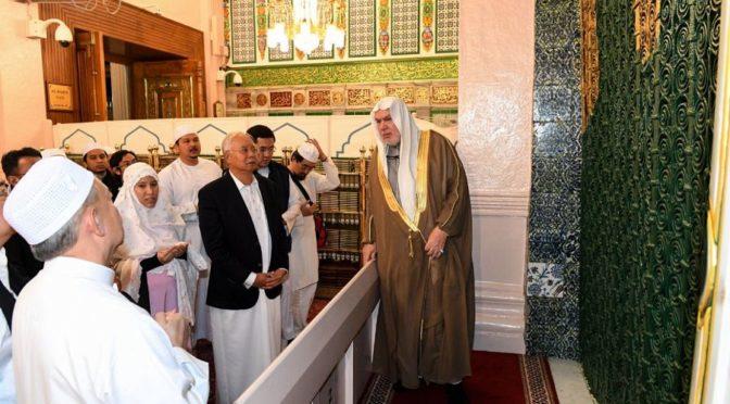 Его Честь премьер-министр Малайзии посетил Мечеть Пророка