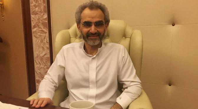 аль-Валид бин Талал осведомился о здоровье принца аль-Валида бин Халида
