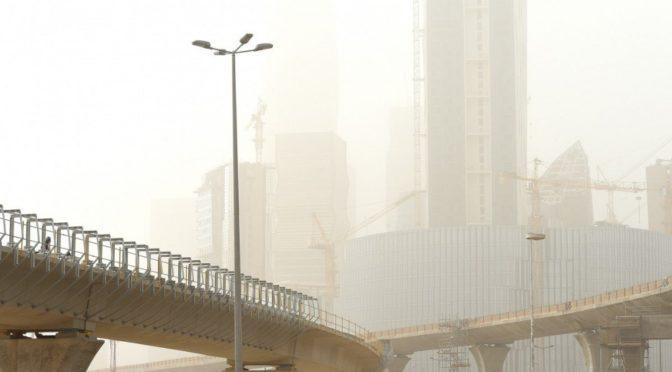 Пылевая буря накрыла Эр-Рияд