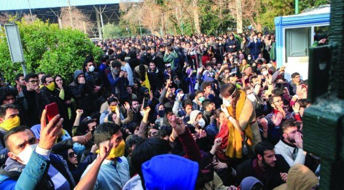 Иран восстаёт: новый убитый огнём КСИР и скрытное перемещение таинственных самолётов