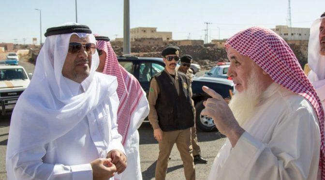 Губернатор округа Таиф инспектировал ряд административных центров округа
