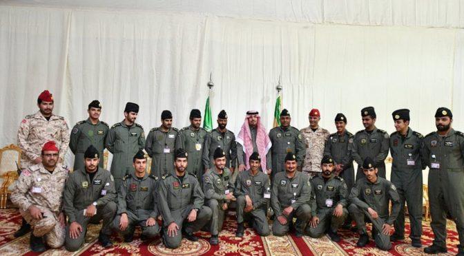 Министр национальной гвардии посетил фестиваль Джанадирия и его павильоны