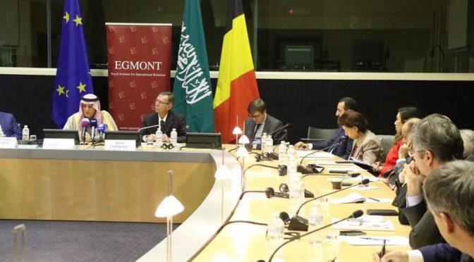 Министр иностранных дел прочёл лекцию в исследовательском институте Эгмонт в Брюсселе