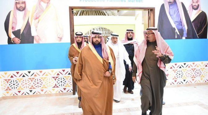 Заместитель губернатора провинции Джазан инспектировал историческую деревню Джазана на фестивале «Джанадирия 32»