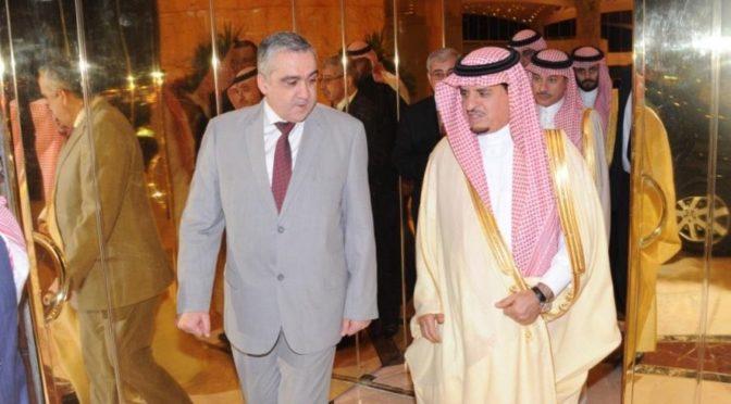 Министр внутренних дел Туниса прибыл в Эр-Рияд