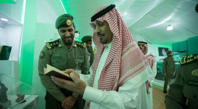 Его Высочество Министр национальной гвардии продолжил посещение павильонов, участвующих в фестивале Джанадирия-32