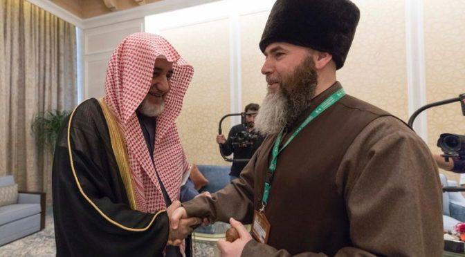 Благородная Мекка: Министр по делам Ислама встретился с муфтием Чеченской республики