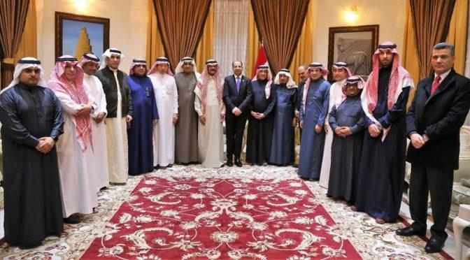 Делегация саудийских журналистов встретилась со спикером парламента и мнистром инастранных дел Ирака