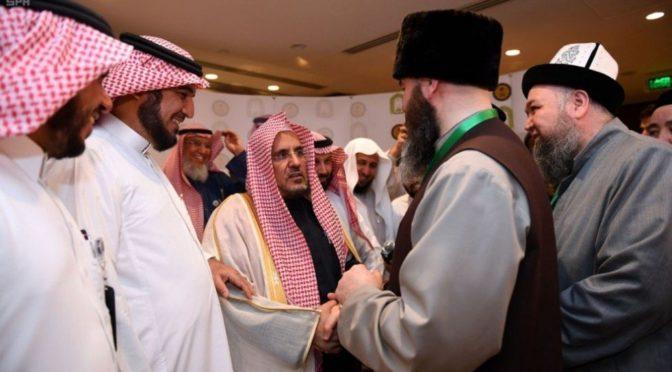 Имам Мечети Пророка встретился с гостями программы Служителя Двух Святынь