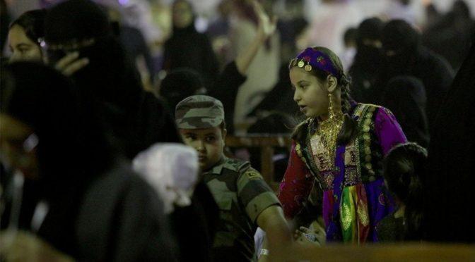 Большой приток посетителей на фестивале «Джанадирия»