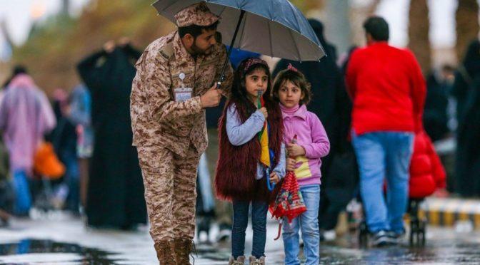 Дождь порадовал посетителей фестиваля «Джанадирия»