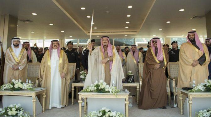 Фестиваль верблюдов им.Короля Абдулазиза  с Королевским присутствием