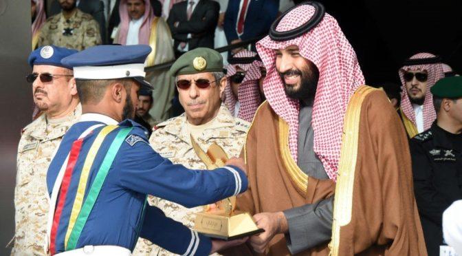Наследный принц укрепил воздушную безопасность 93-им выпуском лётного училища