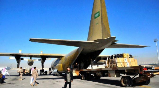 Гуманитарная помощь йеменцам в провинции Маариб