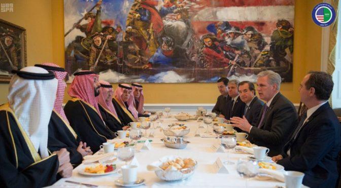 Наследный принц подчеркнул важность сотрудничества с Конгрессом США против экстремизма и иранской угрозы