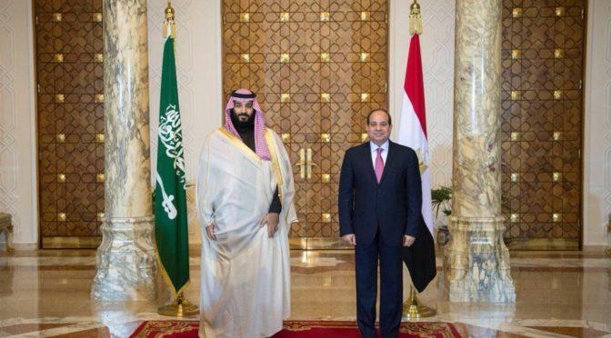 Наследный принц в Каире