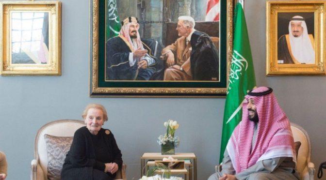 Наследный принц встретился с несколькими экс-чиновниками США