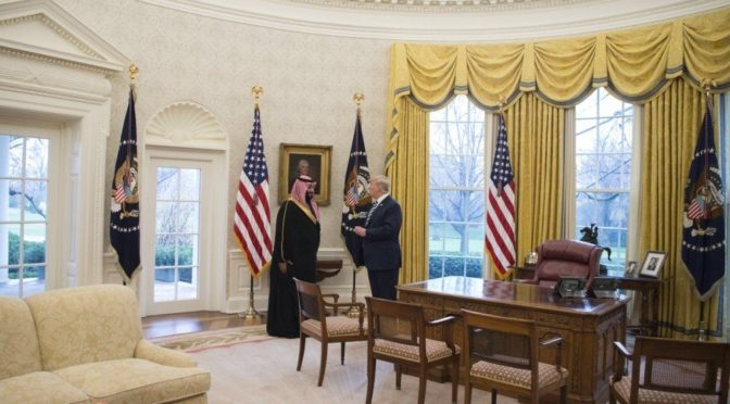 Вашингтон  просит о посредничестве Королевства в отношениях с Пакистаном