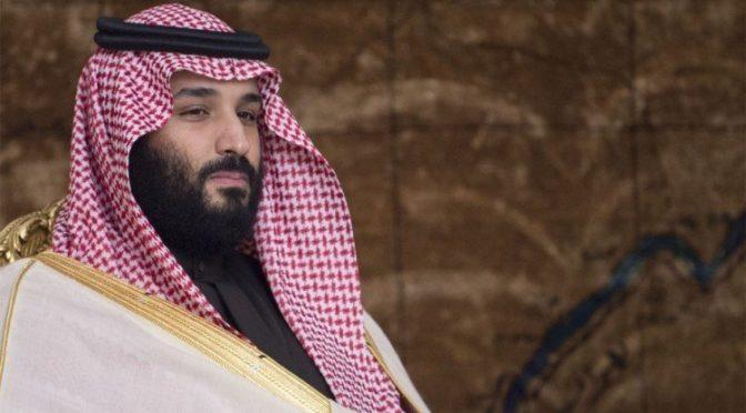 Его Высочество наследный принц встретился с наследным принцем Королевства Бахрейн