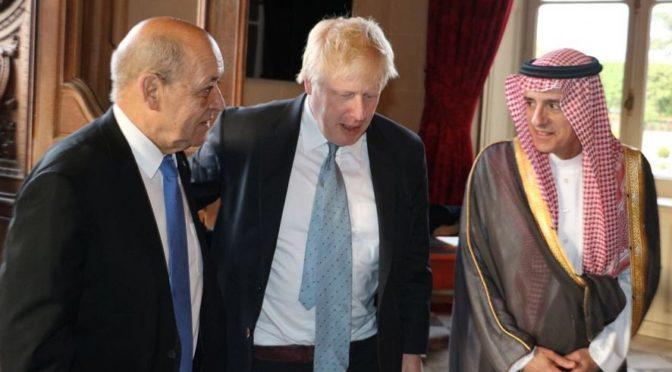 Министр иностранных дел принял участие в собрании министров «малой группы» по Сирии