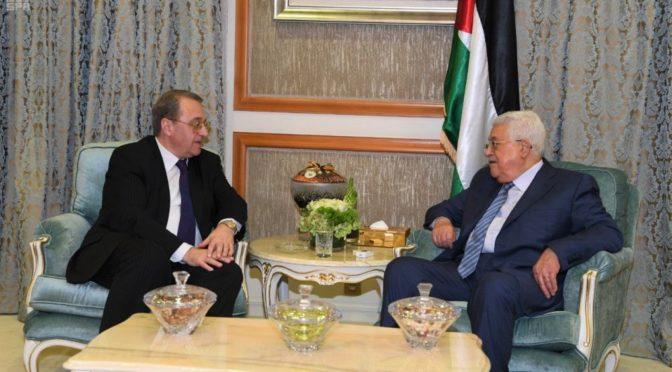 Президент Палестины встретился с посланником России на Среднем Востоке