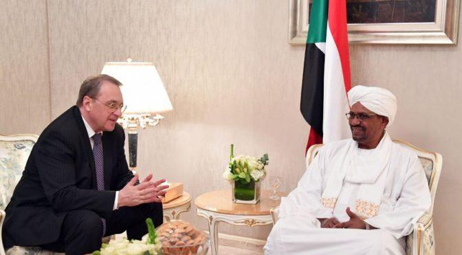 Президент Судана встретился со специальным посланником президента России на Среднем Востоке