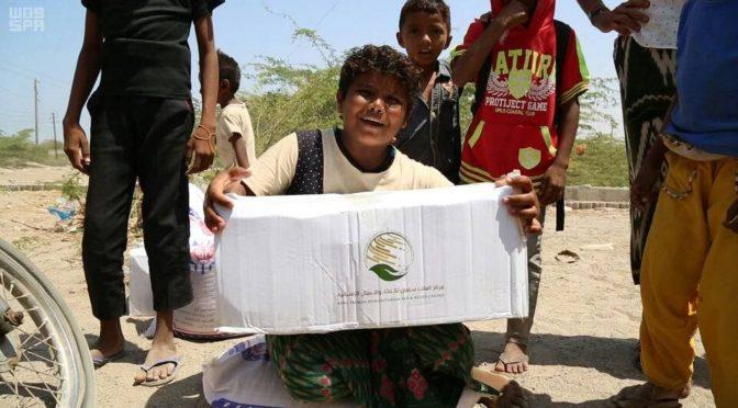 Центр им.Короля  Салмана доставил  гуманитарную помощь в провинцию  Ходейда (Йемен)