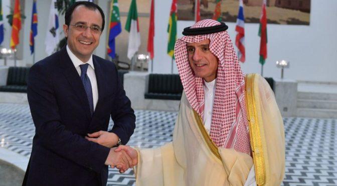 Министр иностранных дел принял министра иностранных дел Кипра, рассмотрев с ним двусторонние отношения