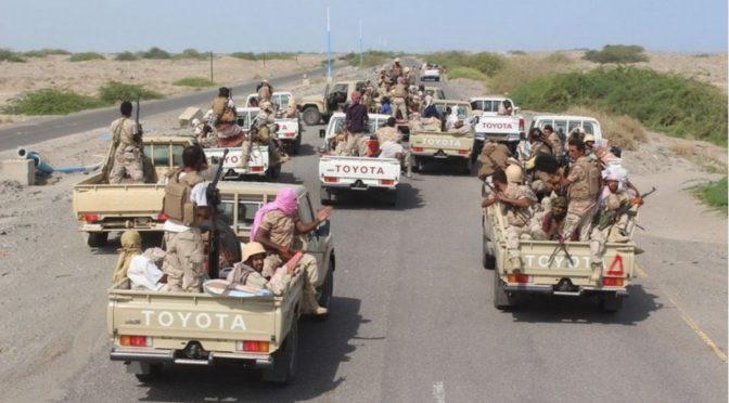 Армия Йемена начала освобождение южных районов округа Миди