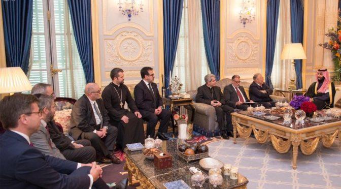 Его Королевское Высочество принц Мухаммад бин салман провёл серию встреч и переговоров во Франции