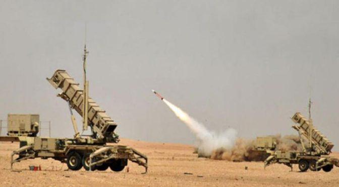 Перехвачена ракета, выпущенная хусиитами в направлении Наджрана, другая же ракета упала в безлюдной пустыне