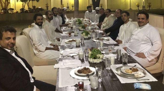 Наследный принц проводит неофициальный приём глав арабских государств за ужином