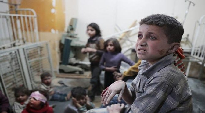 Королевство выражает глубокую озабоченность и решительное осуждение в связи с химической атакой в Дума